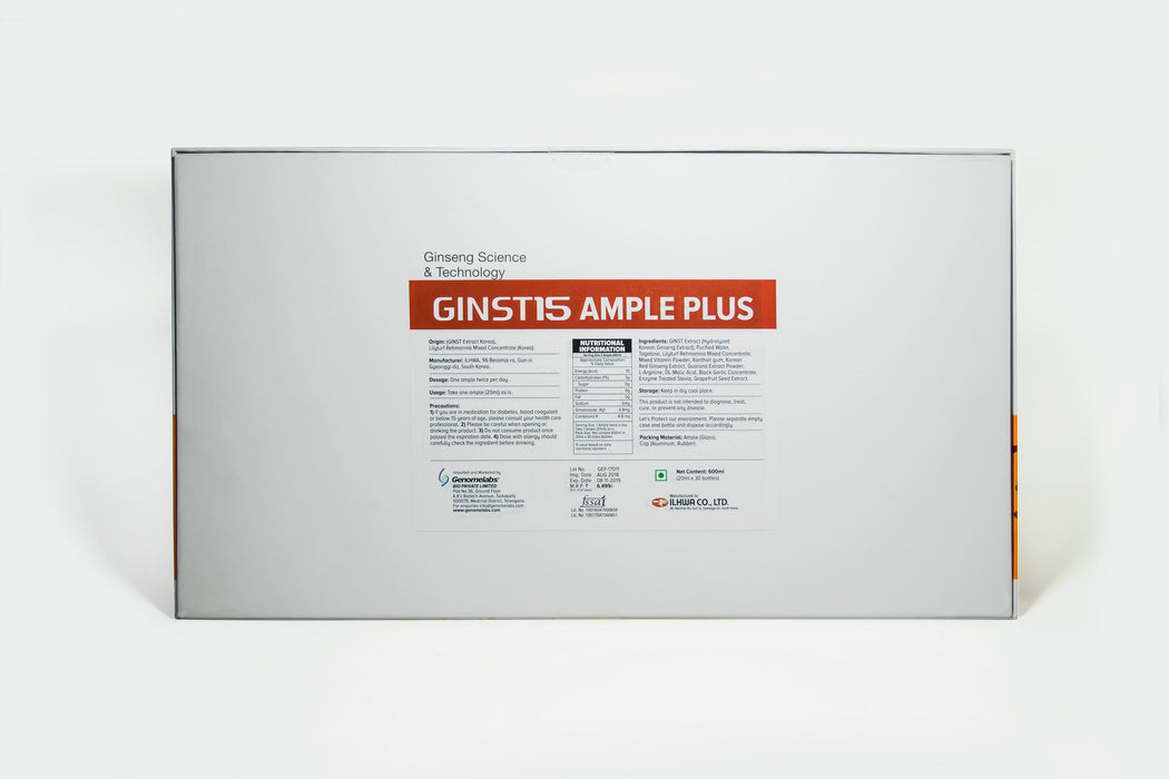 GINST 15 Ample Shots 20 ml x 30