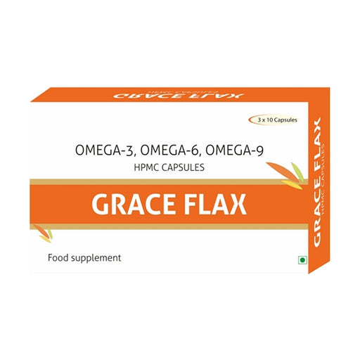 Nutra Grace Grace Flax 30 Capsules - NutraC - Health & Nutrition Store