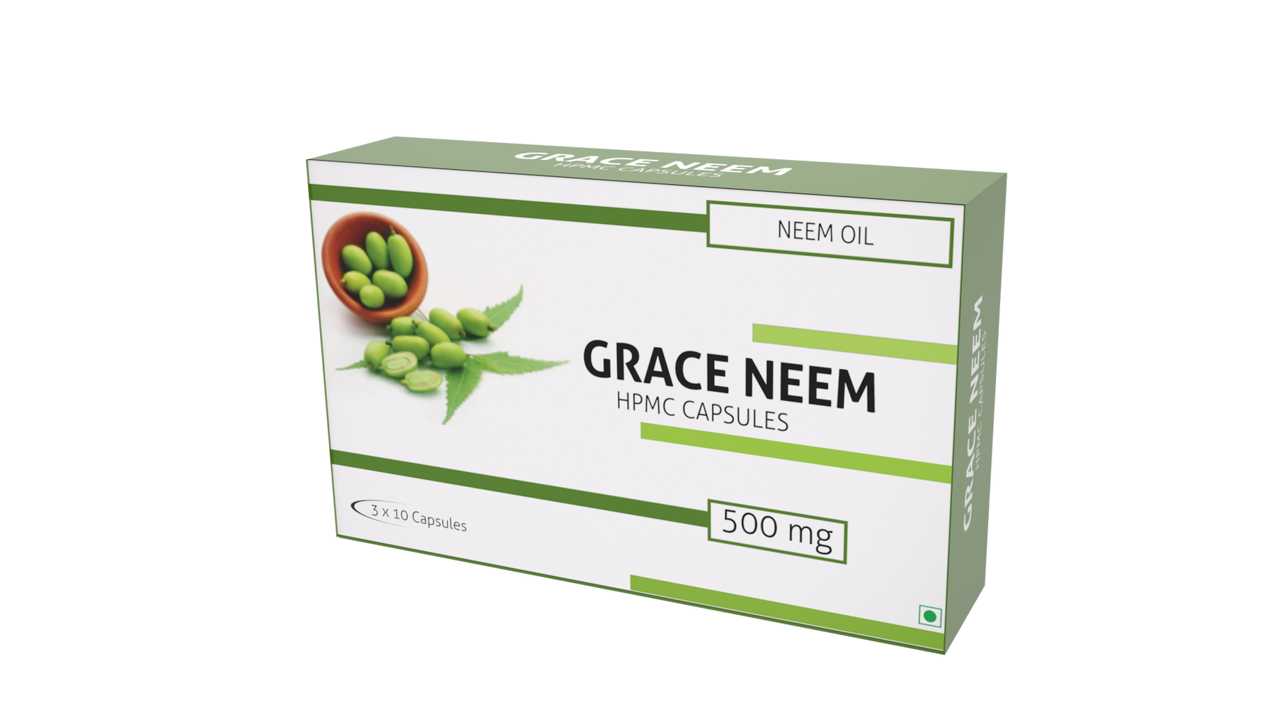 Nutra Grace Grace Neem 30 Capsules - NutraC - Health & Nutrition Store