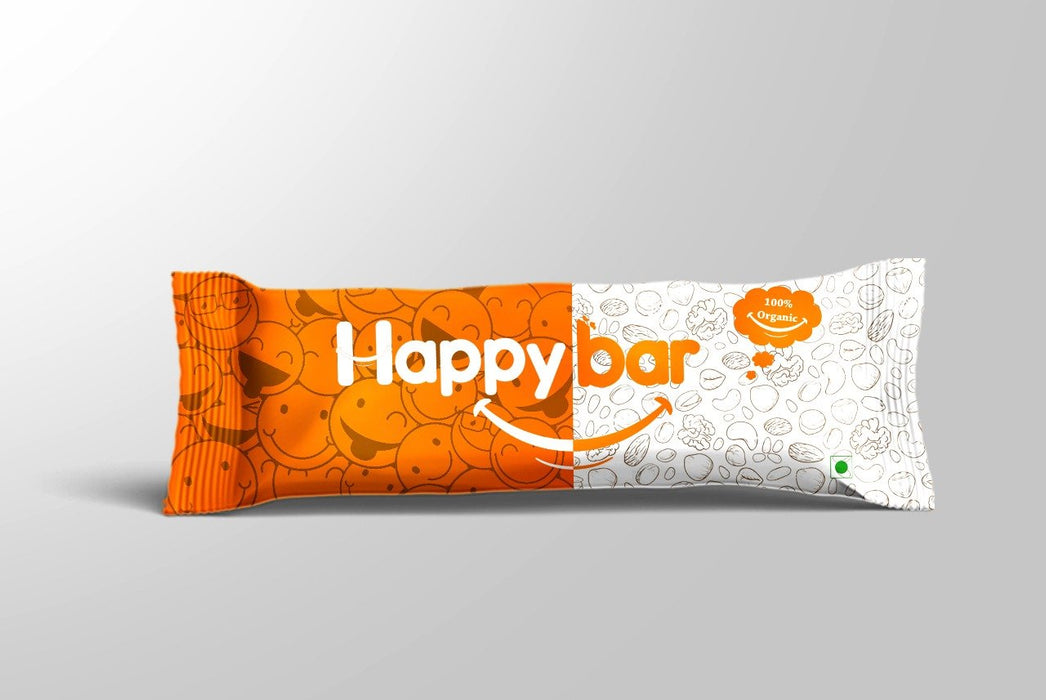 Happy Bar 30g -Pack of 10 (30g x 10) - NutraC - Health & Nutrition Store