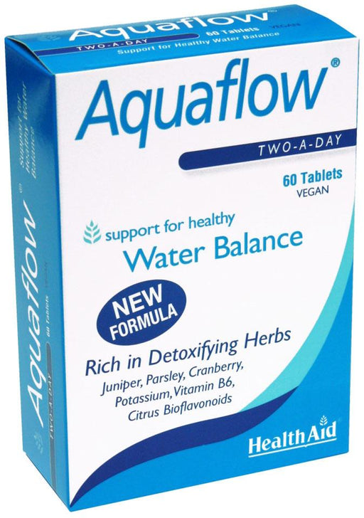 HealthAid Aquaflow -60 Tablets - NutraC - Health & Nutrition Store