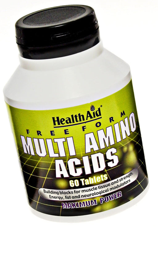 HealthAid Free Form Multi Amino Acid -60 Tablets
