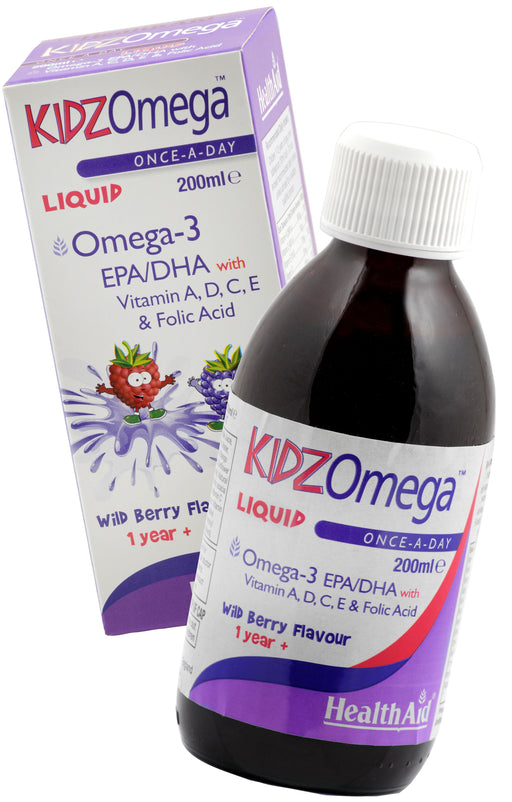 HealthAid KidzOmega -200ml Liquid