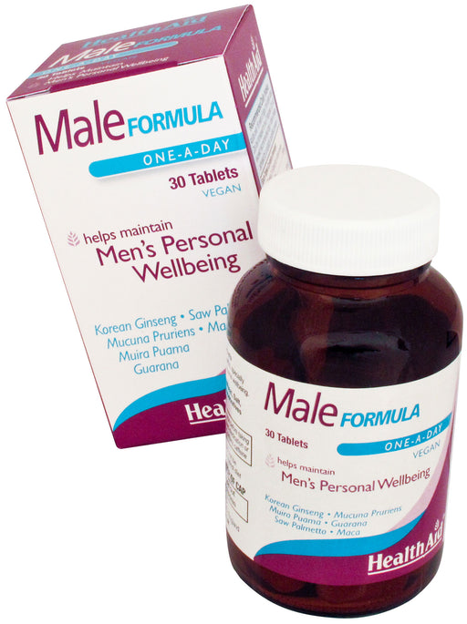 HealthAid Male Formula -30 Tablets - NutraC - Health & Nutrition Store