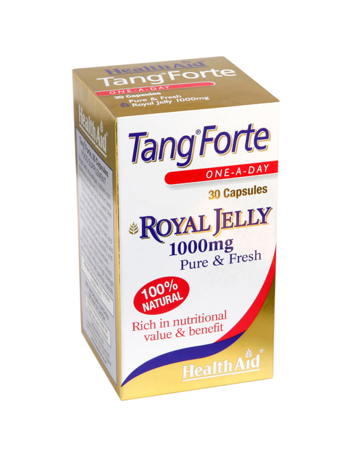HealthAid Tang Forte (Royal Jelly 1000mg) -30 Capsules - NutraC - Health & Nutrition Store