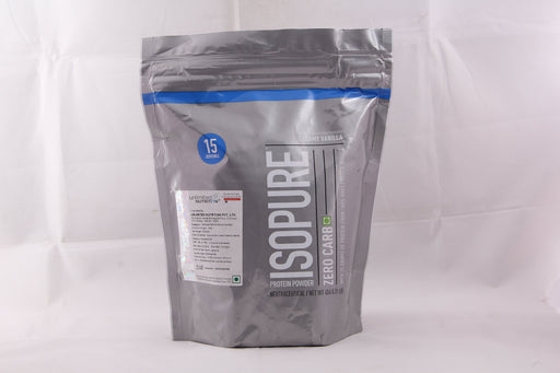 Isopure Zero Carb 100% Whey Protein Isolate Powder - 1 lb, 454 g (Creamy Vanilla) - NutraC - Health & Nutrition Store