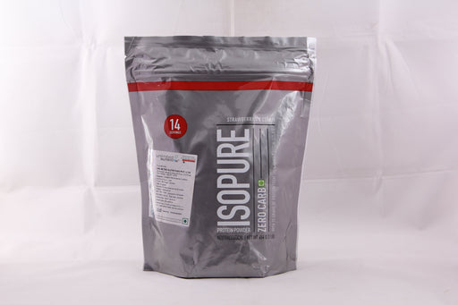 Isopure Zero Carb 100% Whey Protein Isolate Powder - 1 lb, 454 g (Strawberries & Cream) - NutraC - Health & Nutrition Store