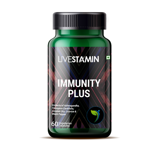 Livestamin Immunity Plus 60 Capsules - NutraC - Health & Nutrition Store