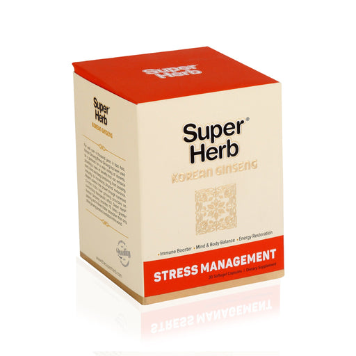 Super Herb Korean Ginseng Softgels 30`s