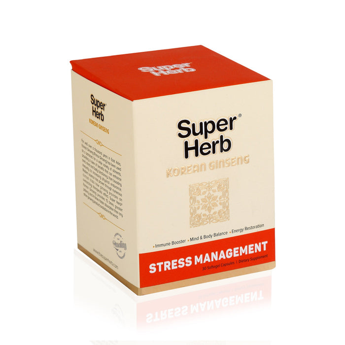 Super Herb Korean Ginseng Softgels 30`s - NutraC - Health & Nutrition Store