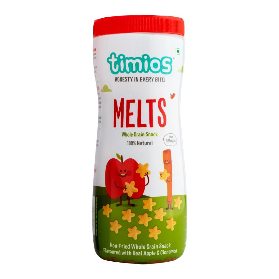 Timios Melts Apple Cinnamon 50 gm - NutraC - Health & Nutrition Store