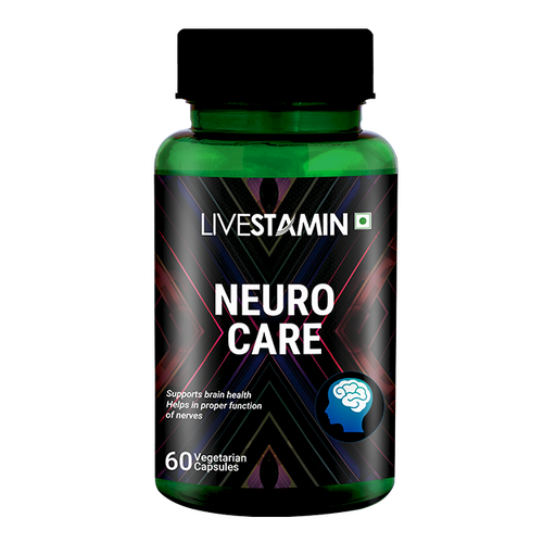 Livestamin Neuro Care 60 Capsules - NutraC - Health & Nutrition Store