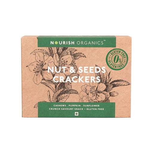 Nourish Organics Nut & Seeds Crackers - NutraC - Health & Nutrition Store