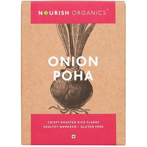 Nourish Organics Onion Poha - NutraC - Health & Nutrition Store