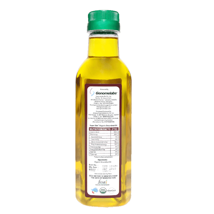 Super Diet Groundnut oil 500ml - NutraC - Health & Nutrition Store