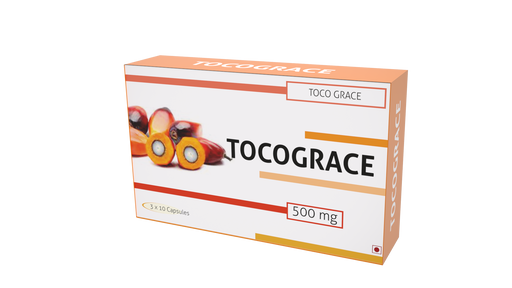 Nutra Grace Toco Grace 30 Capsules - NutraC - Health & Nutrition Store