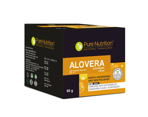 Pure Nutrition Aloe vera cream - NutraC - Health & Nutrition Store