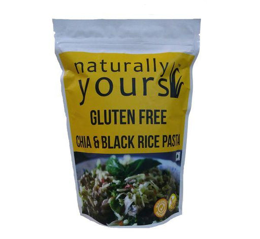 Naturally Yours Gluten Free chia & Black rice Pasta - NutraC - Health & Nutrition Store