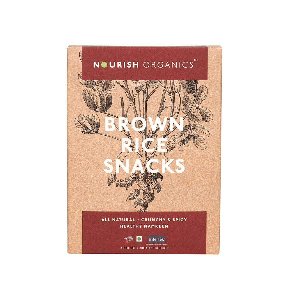 Nourish Organics Brown Rice Snacks - NutraC - Health & Nutrition Store