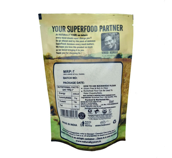Naturally Yours Buckwheat Flour