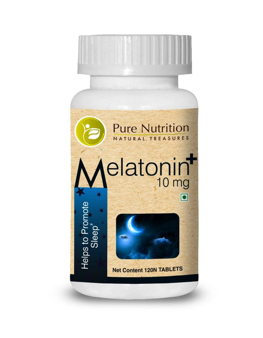 Pure Nutrition Melatonin Plus 10mg - NutraC - Health & Nutrition Store