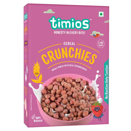 Timios Crunchies Breakfast cereals 300g - NutraC - Health & Nutrition Store