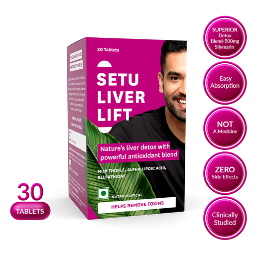 Setu Liver Lift - 30 Tablets