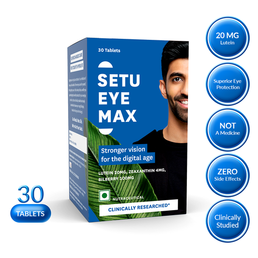 Setu Eye Max - 30 Tablets