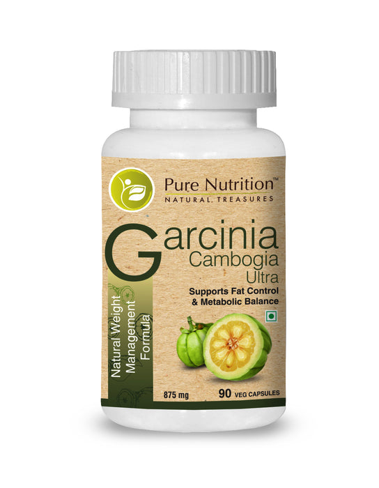 Pure Nutrition Garcinia Cambogia Ultra (Natural Weight Management Formula) - 90 Capsules