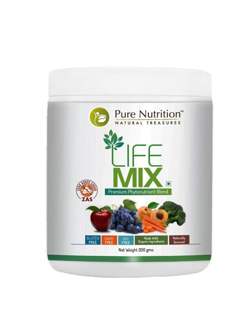 Pure Nutrition Life Mix - For Enhanced Disease Resistance - 200grams 7.05 Ounce - NutraC - Health & Nutrition Store