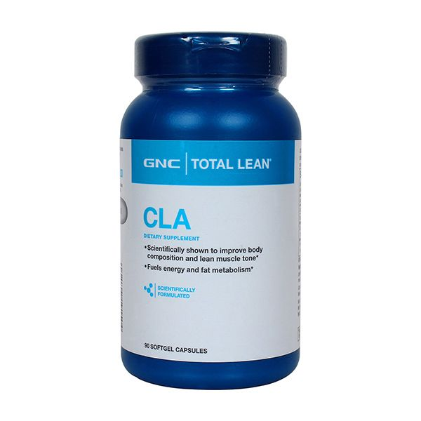 GNC Total Lean CLA for Weight Loss (90 Softgel Capsules)