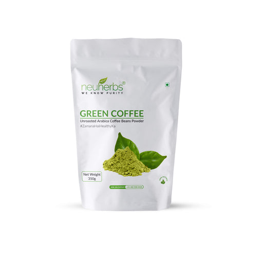 Neuherbs Green Coffee Beans Powder – 350 gm - NutraC - Health & Nutrition Store