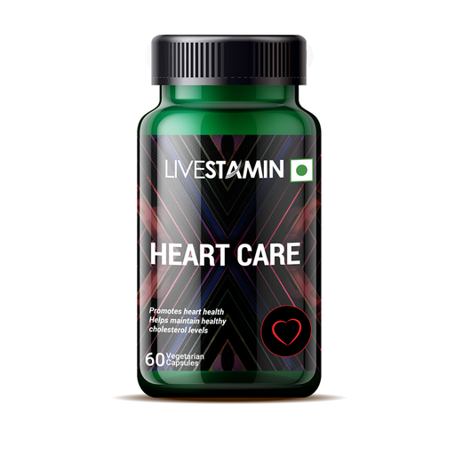 Livestamin Heart Care 60 Capsules - NutraC - Health & Nutrition Store