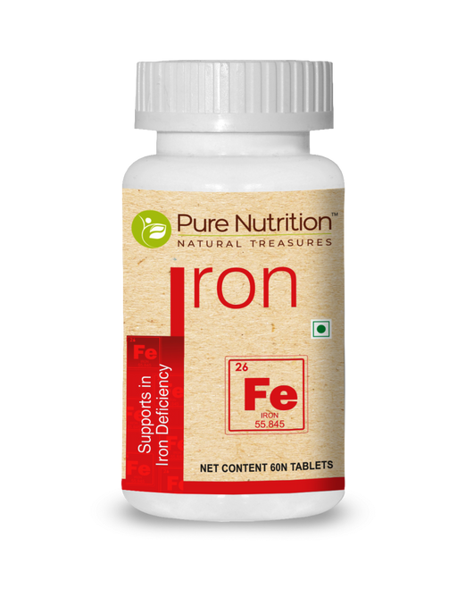 Pure Nutrition Iron 60 Tablets