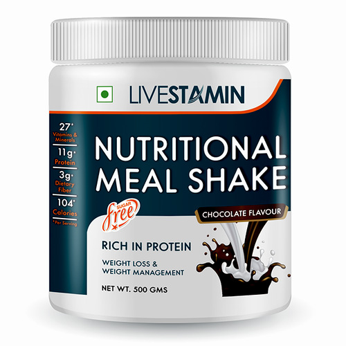 Nutritional Meal Shake Chocolate Flavour 500g - NutraC - Health & Nutrition Store