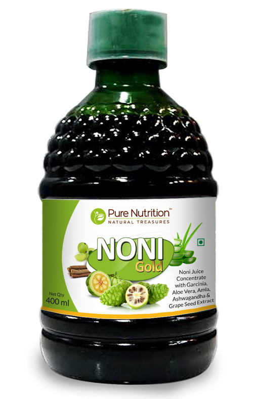 Pure Nutrition Noni Gold Liquid for Healthy Life Style - 400ML - NutraC - Health & Nutrition Store