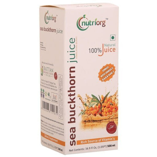 Nutriorg Seabucktorn Juice 500ml