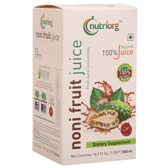 Nutriorg Noni Juice 500ml - NutraC - Health & Nutrition Store