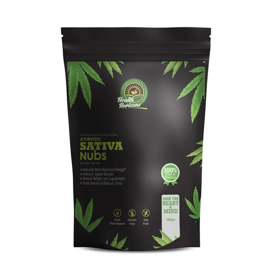 Health Horizons Ayurvedic Hemp seeds Sativa Nubs 150gm