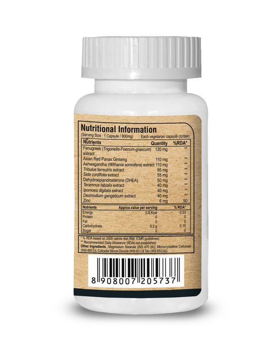 Pure Nutrition AcuTest (Testosterone Support)- 60 Caps - NutraC - Health & Nutrition Store