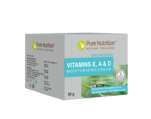 pure Nutrition Vitamin E; A & D Skin Cream 50g - NutraC - Health & Nutrition Store