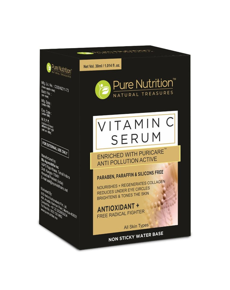 Pure Nutrition  Vitamin C Serum - NutraC - Health & Nutrition Store