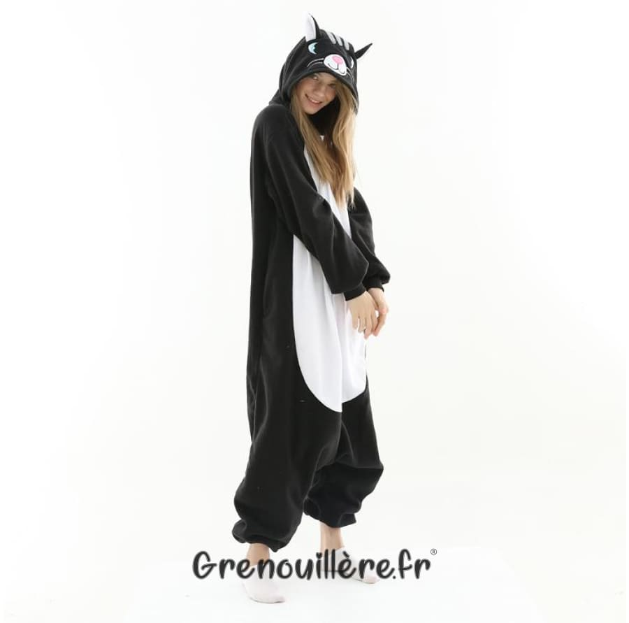 Grenouillère adulte chat