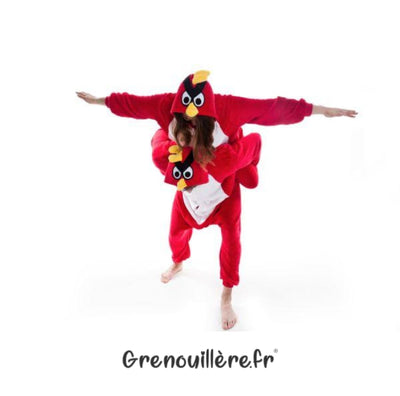 Grenouillère angry birds