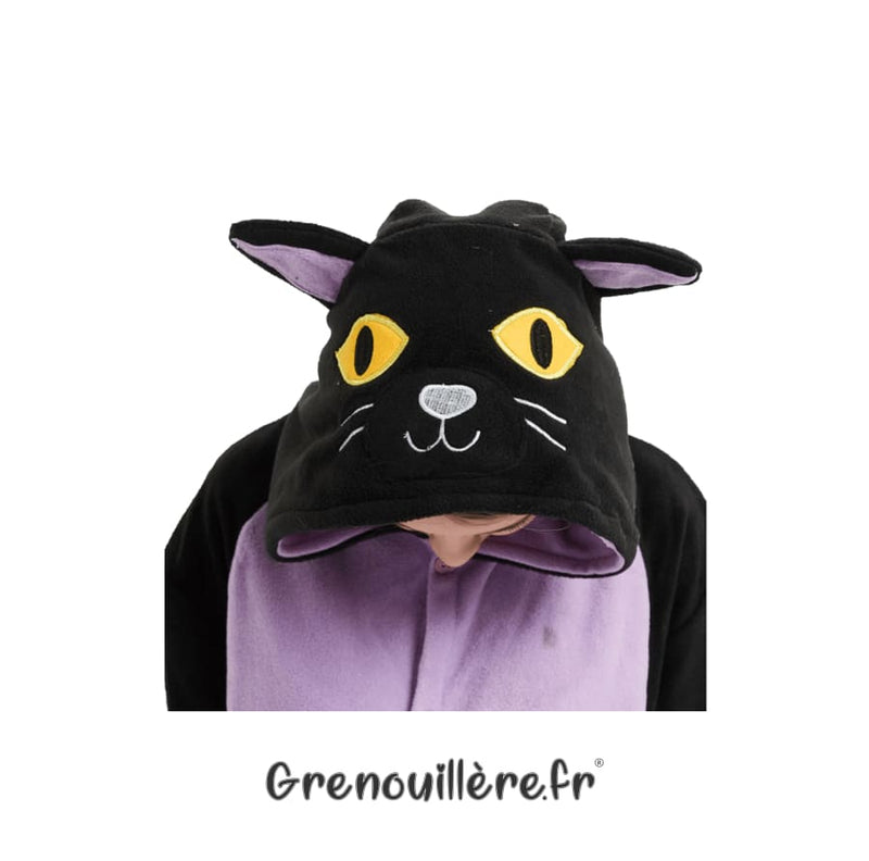 Grenouillère femme chat