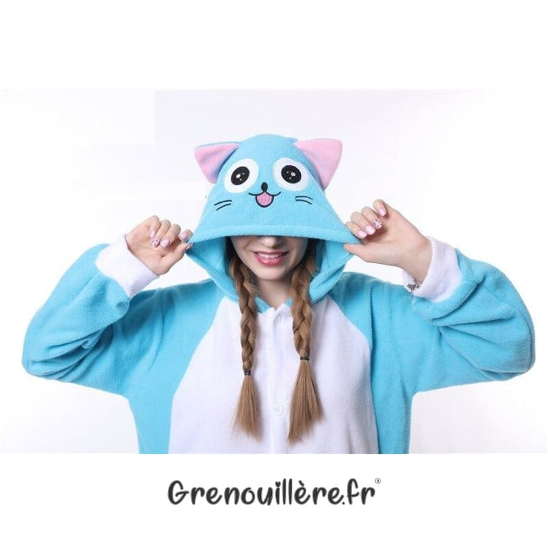 Grenouillère Chat Happy Fairy Tail