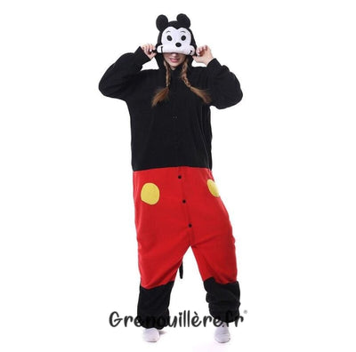 Grenouillère mickey adulte