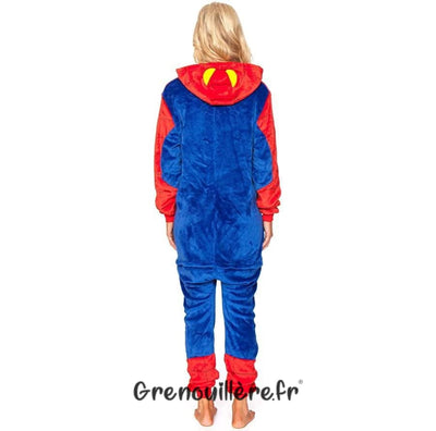 Grenouillère spiderman adulte
