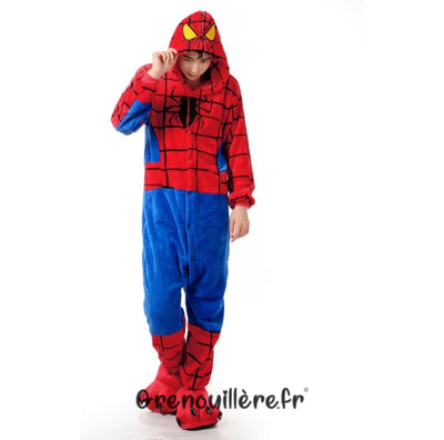 Grenouillère spiderman homme