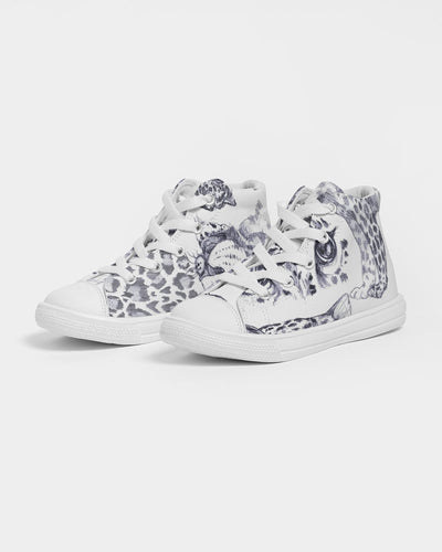 Jungle Cat Kids Hightop Canvas Shoe